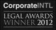 Corporate International Legal Awards Winner 2012