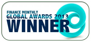 Finance Monthly Global Awards 2013 Winner