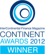 InterContenental Finance Magazine Continent Awards 2012 Winner