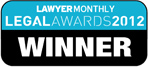 Lawyer Monthly Legal Awards 2012 Winner